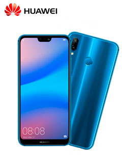 "Smartphone Huawei P20 Lite, 5.8"" 1080x2280, Android 8.0, LTE, Dual SIM, Desbloqueado."