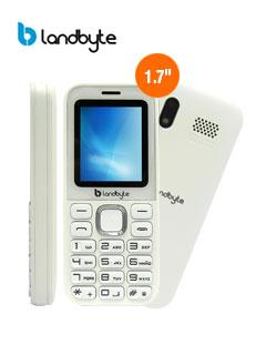 "Teléfono celular básico LandByte LT1020, 1.77"", 128x160, Dual SIM, Radio FM, Desbloqueado."