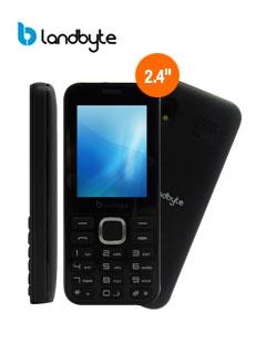 "Teléfono celular básico LandByte LT1030, 2.4"" 240x320, Dual SIM, Radio FM, Desbloqueado"