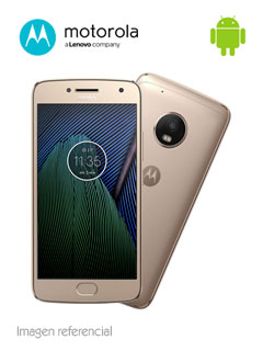 """Smartphone Motorola G5 Plus, 5.2"""" 1080x1920, Android 7.0, LTE, Dual SIM, Desbloqueado."""