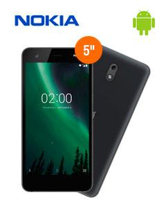 """Smartphone Nokia 2, 5.0"""" 720x1280, Android 7.1, LTE, Dual SIM, Desbloqueado."""