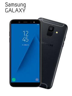 SAMSUNG GALAXY A6 DS LTE BLACK