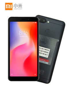 XIAOMI REDMI 6 DS LTE 32GB BLK