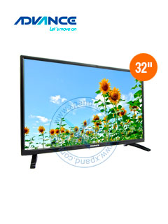 "Televisor Advance ADV32N00D, 32"" LED HD, 1366x768, ISDB-T."