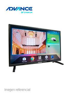 "Televisor Smart Advance ADV32S00D, 32"" LED HD, 1366x768, ISDB-T, Wi-Fi, LAN."