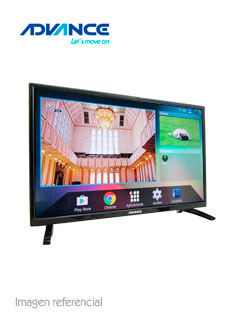 "Televisor Smart Advance ADV32S00D, 32"" LED HD, 1366x768, ISDB-T, Wi-Fi, LAN."