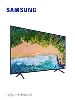"Televisor Flat Smart Samsung NU7100 Serie 7, 43"" 4K, 3840x2160, ISDB-T, Wi-Fi, LAN."