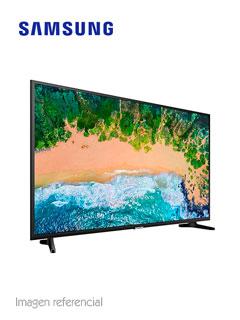 "Televisor Smart Flat Samsung NU7090, 55"" LED UHD, 3840 x 2160, ISDB-T, Wi-Fi, LAN."