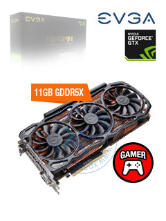VGA 11G EVGA GTX1080TI KINGPIN