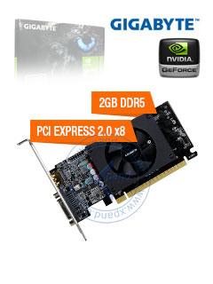 VGA 2G GB GT710 FAN LP GDDR5