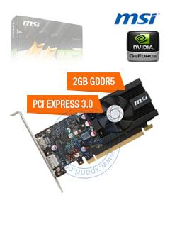 VGA 2G MS GT1030 LP OC GDDR5