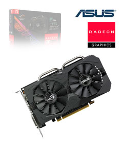 VGA 4G AS RX560 STRIX GAMING