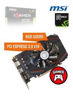 VGA 6G MSI GTX1060 IGAMER GDR5