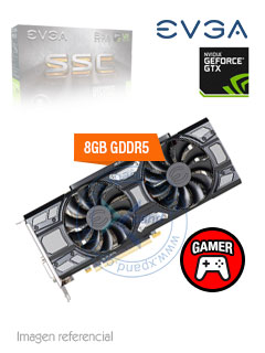 VGA 8G EVGA GTX1070 SC GMG GD5