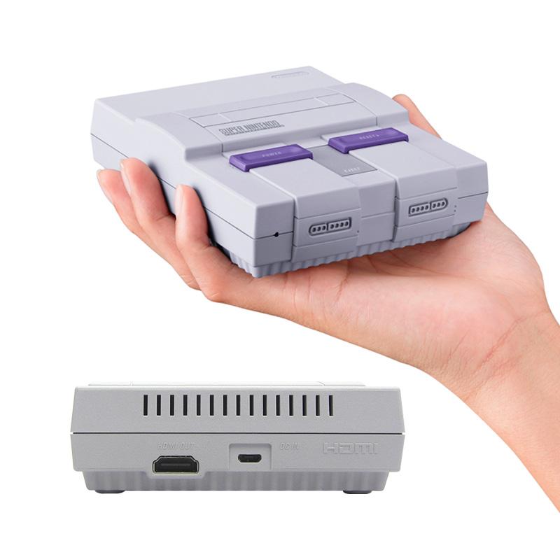 Consola Nintendo Super Nes Classic Edition Hdmi 2 Mandos Juegos