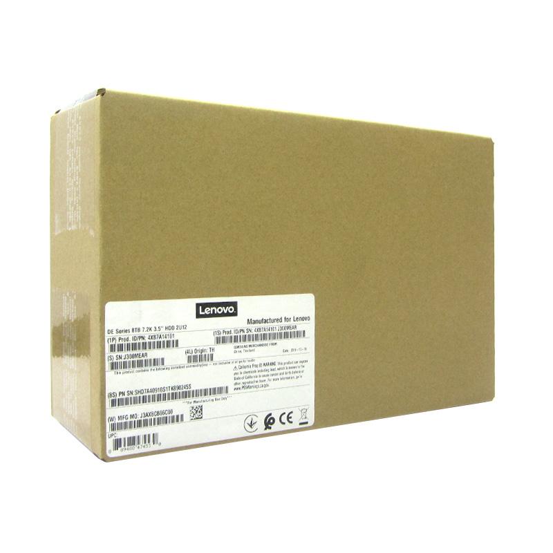 Disco duro Lenovo 4XB7A14101, capacidad 8TB, interfaz SAS